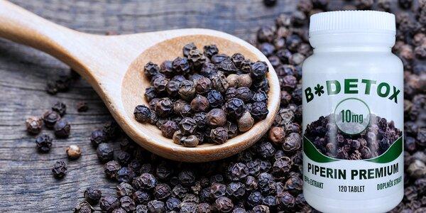 Extrakt z pepře Piperin: Břišní tuku, sbohem!