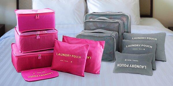 Praktické cestovní organizéry do každého kufru