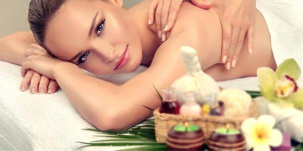 Voňavá hodinová masáž a péče o nožky či obličej