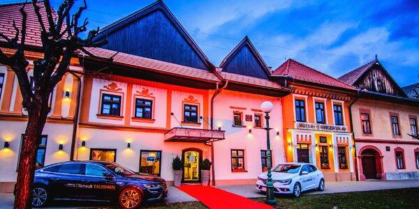 Romantický pobyt pod Vysokými Tatrami pro dva