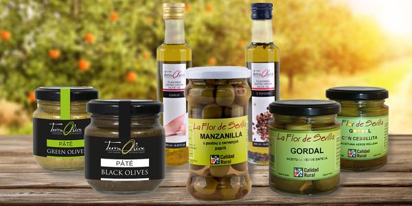 Španělské olivové delikatesy