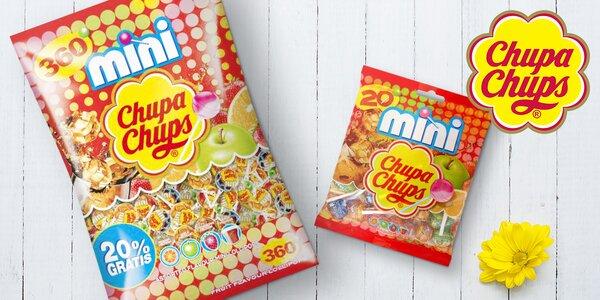 Chupa Chups: mix legendárních mini lízátek