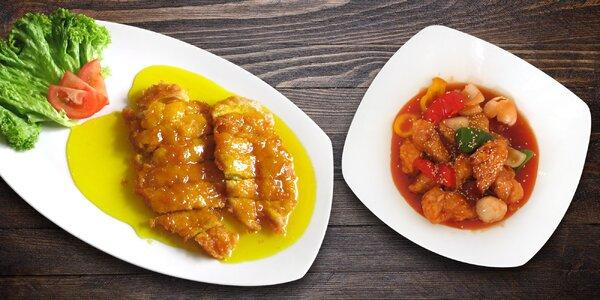 Kuřecí speciality na hongkongský způsob