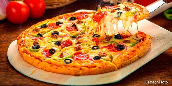 Největší pizza v Brně, průměr 60 centimetrů