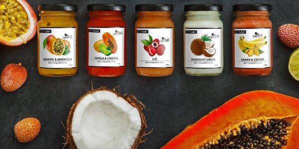 Vynikající thajské džemy z exotického ovoce
