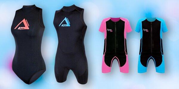 Neoprenové plavky Agama pro celou rodinu