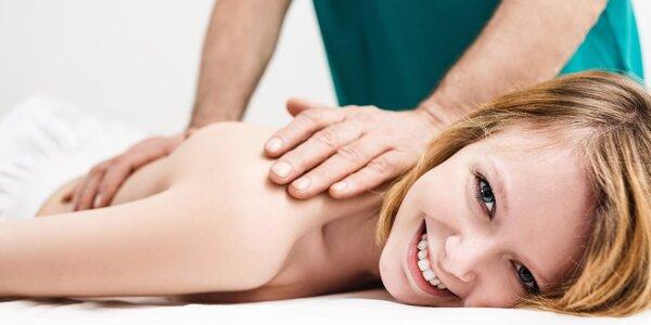 Zdravotní masáže proti bolesti a únavě