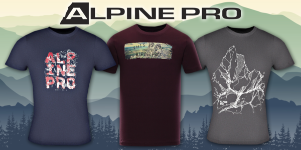 Pánská trička Alpine Pro