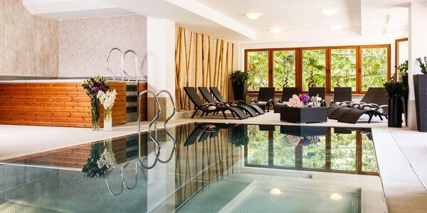 Špičkový wellness hotel v Nízkých Tatrách pro 2