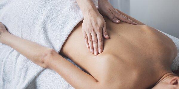 Breussova masáž páteře vč. oxygenoterapie