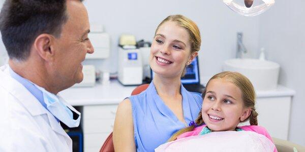 Dentální hygiena na vaše přání i pro děti