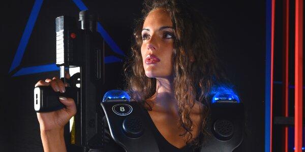 Akční zábava: Laser game až pro 12 hráčů