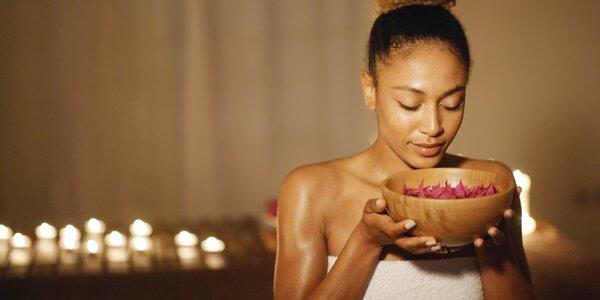 Masáž obličeje, Aroma oil masáž a 1hod. sauna