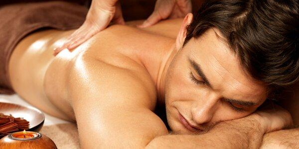 Víkendová terapeutická masáž zad Trigger Points