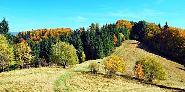 Podzim v Moravskoslezských Beskydech vč. jídla