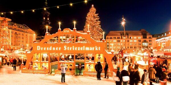 Adventní výlet do Drážďan s průvodcem