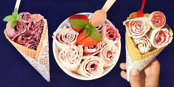 Krása, která chutná: Poctivá zmrzlina v rolkách