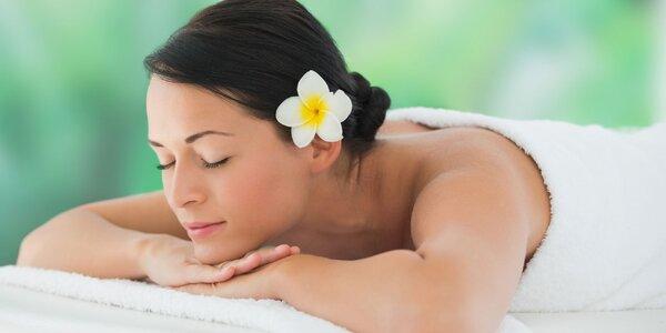 60minutová havajská masáž Lomi Lomi v Břeclavi