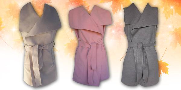 Dámské designové vesty