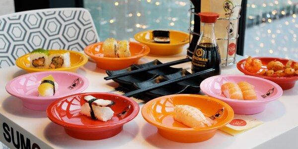 Running sushi: až 3 hodiny neomezené konzumace