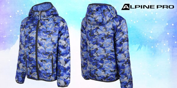 Dětská zateplená bunda Alpine Pro s impregnací