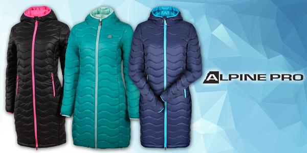 Dámské zateplené kabáty Alpine Pro