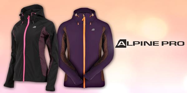 Dámské softshellové bundy Alpine Pro