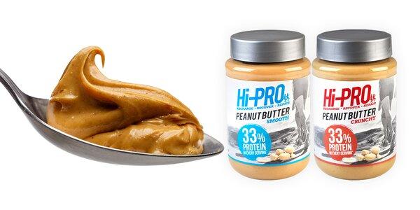 Vynikající arašídové máslo s hromadou bílkovin