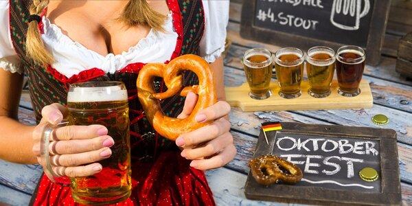 Pivní festival Oktoberfest 2017 v Mnichově