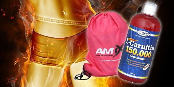 L-Carnitin v litrovém balení + sportovní bag