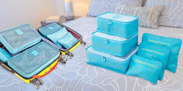 Praktické cestovní tašky a organizéry na cesty