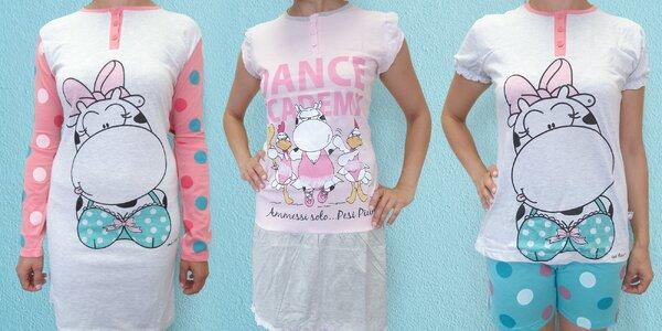 Dámská bavlněná pyžama Crazy Farm