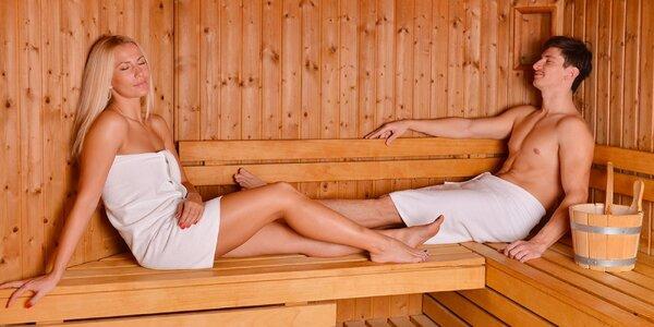 Privátní wellness se saunou a vířivkou pro 2