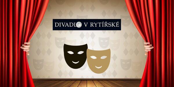 30% sleva na 2 vstupenky do Divadla v Rytířské