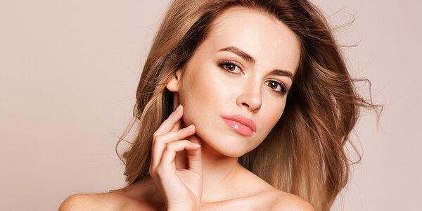 Kosmetické ošetření s liftingovým efektem