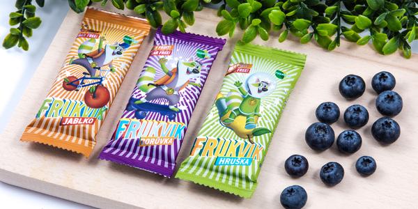 Zdravá svačinka pro děti: Ovocné tyčinky Frukvik