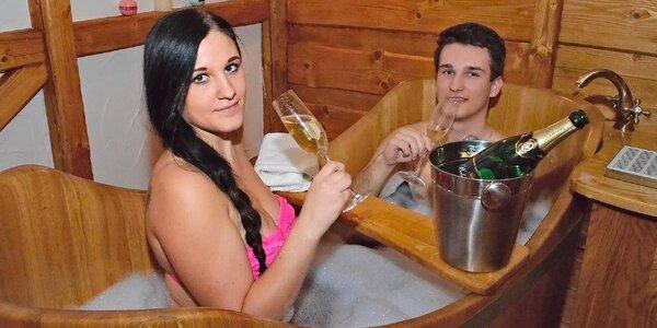 Romance pro dva: vinná koupel v dřevěných kádích