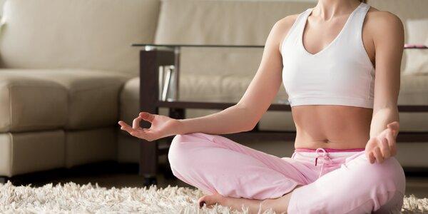 80minutové lekce Hatha jógy nebo Jin jógy