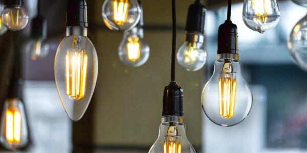 Úsporné LED žárovky Tesla v retro designu