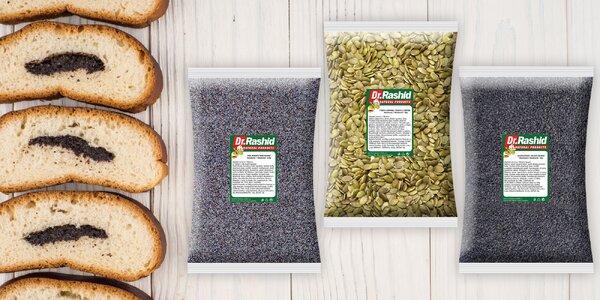 Cenné dary přírody: semínka máku, sezamu i dýně