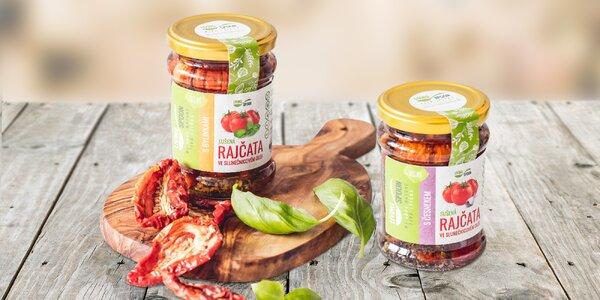 Nakládaná sušená rajčata od českého výrobce