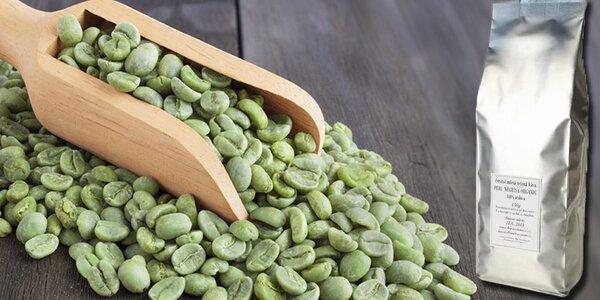 Jemně mletá zelená káva na podporu hubnutí a zdraví