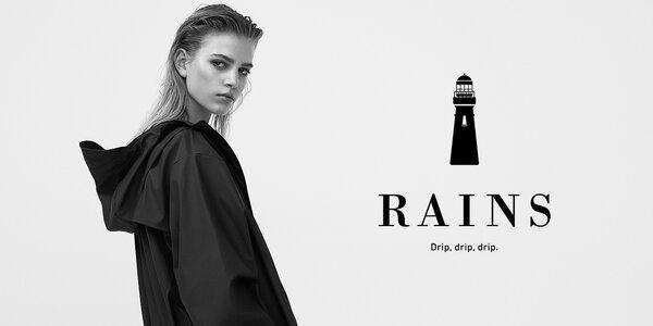 Elegantní dámské pláštěnky dánské značky RAINS