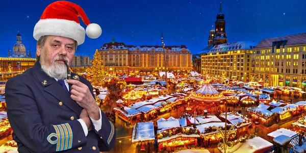 Adventní plavba na vánoční trhy do Drážďan