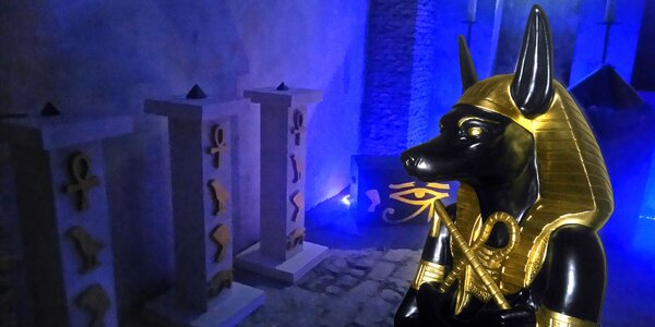 Prokletí egyptské hrobky: únikovka až pro 4 os.