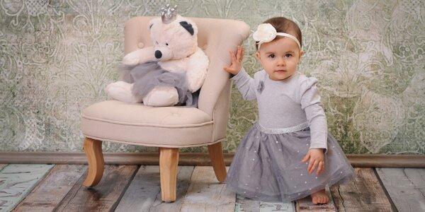 Focení dětí a miminek v ateliéru Radka Hensley