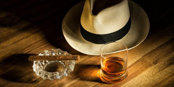Velká rumová degustace a snoubení s doutníkem