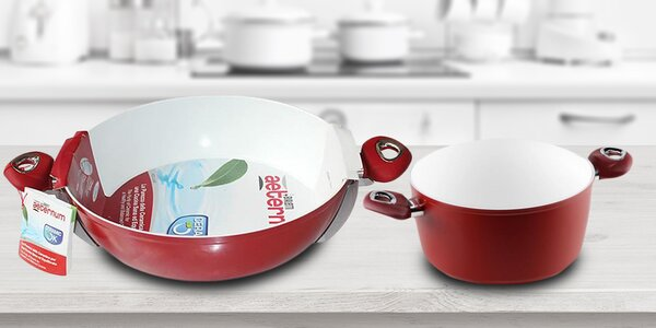 Teflonové a keramické nádobí italské značky Bialetti