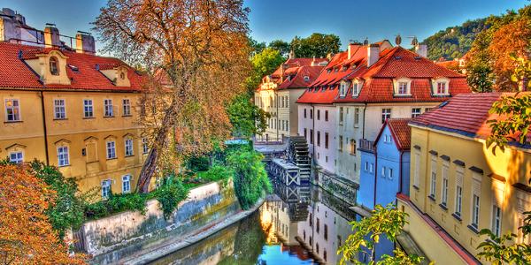Romantický pobyt v klidném koutě Prahy pro 2