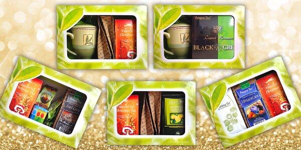 Krásná dárková balení kvalitních čajů